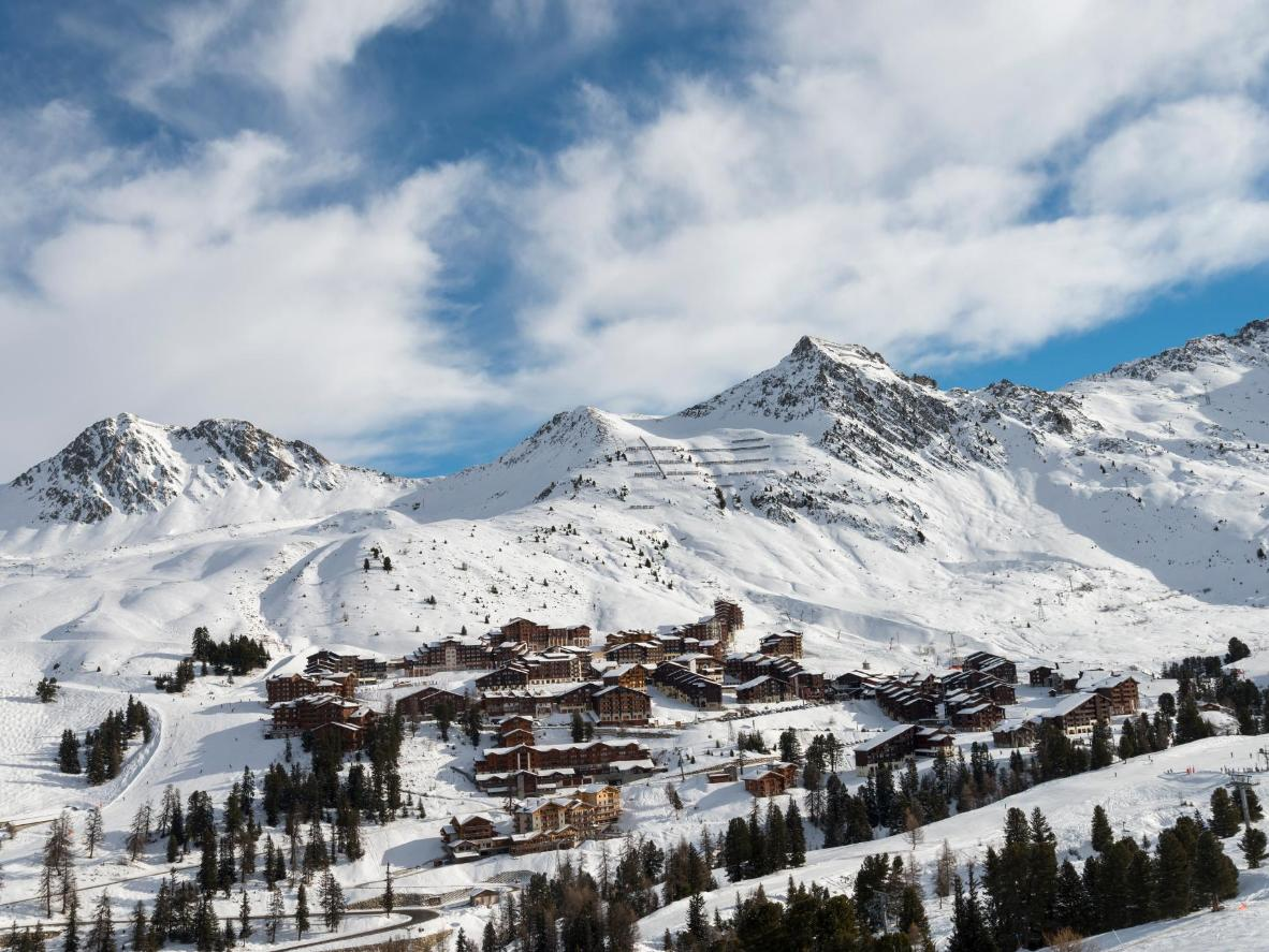 La Plagne, France, is the most popular ski resort in the world