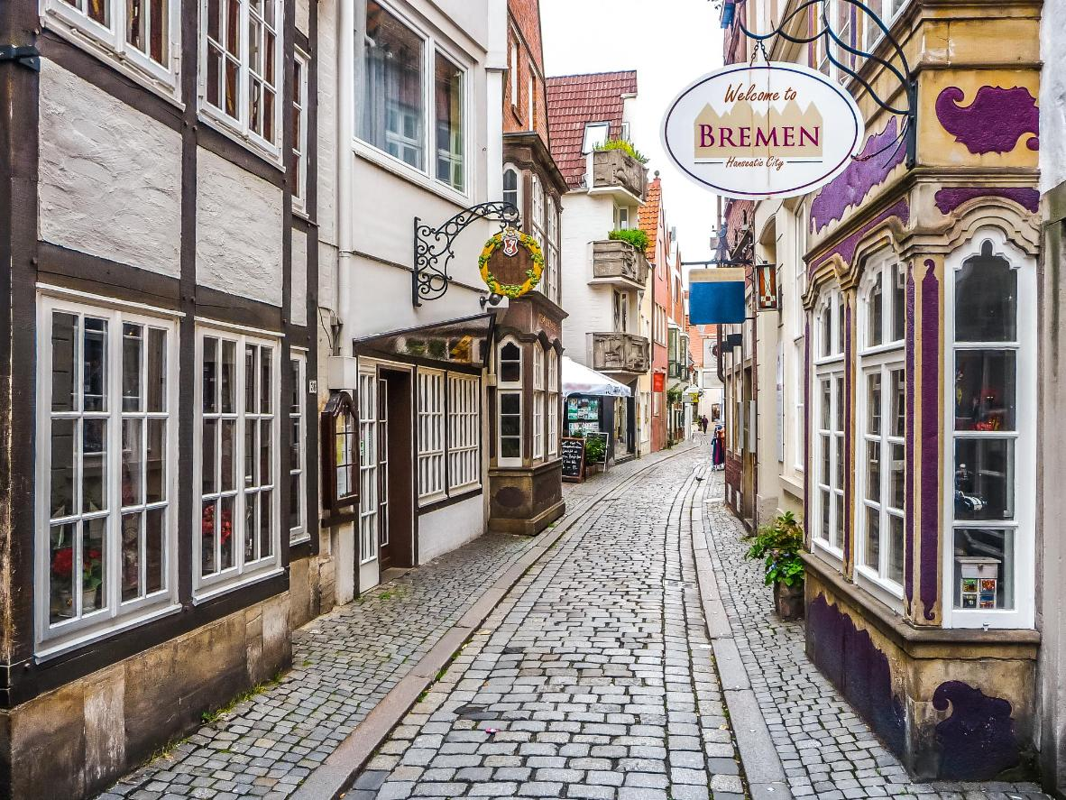 Bremen, the most highly-endorsed 'City Trip' destination by Booking.com customers