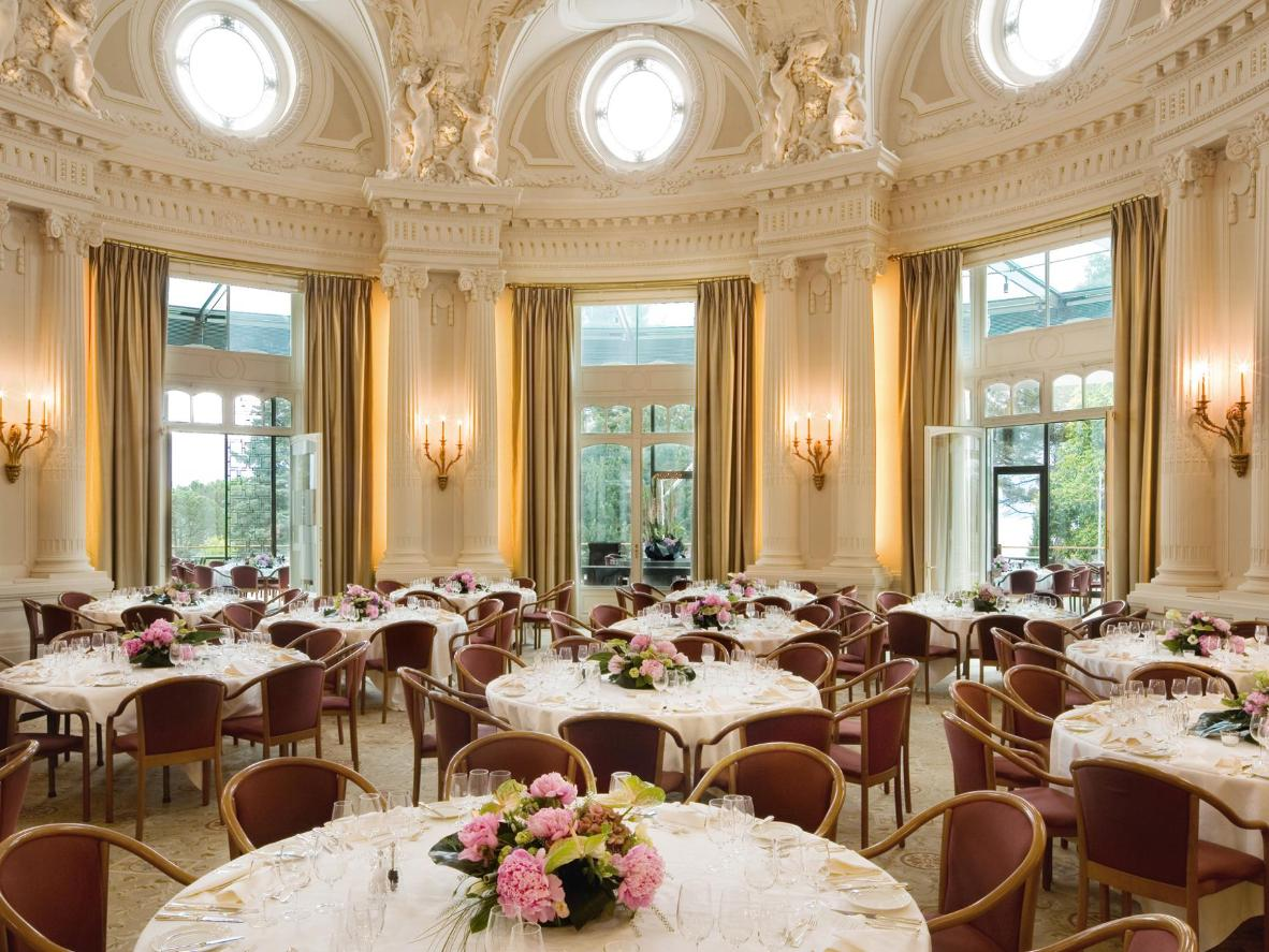 A dining room befitting of a palace – Beau-Rivage