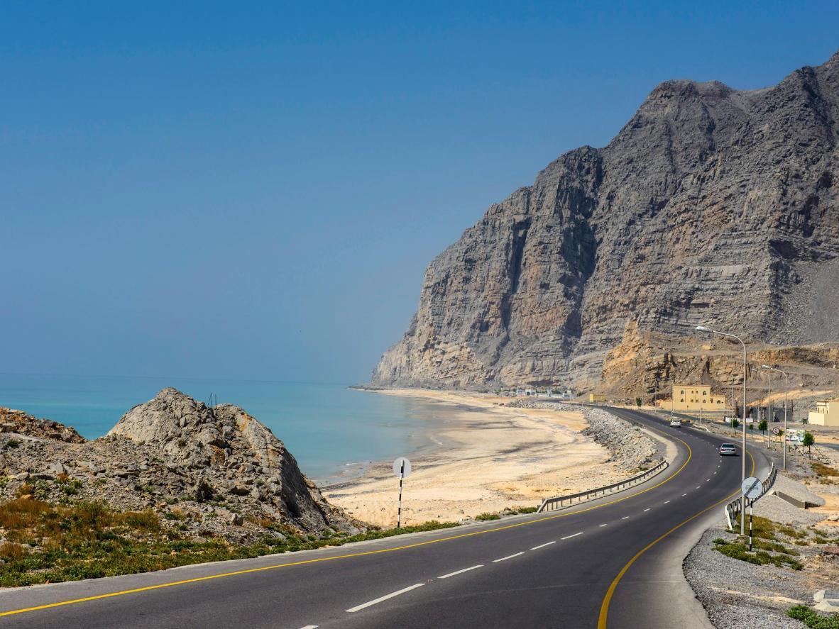 Khasab, on the stunning coast of Oman