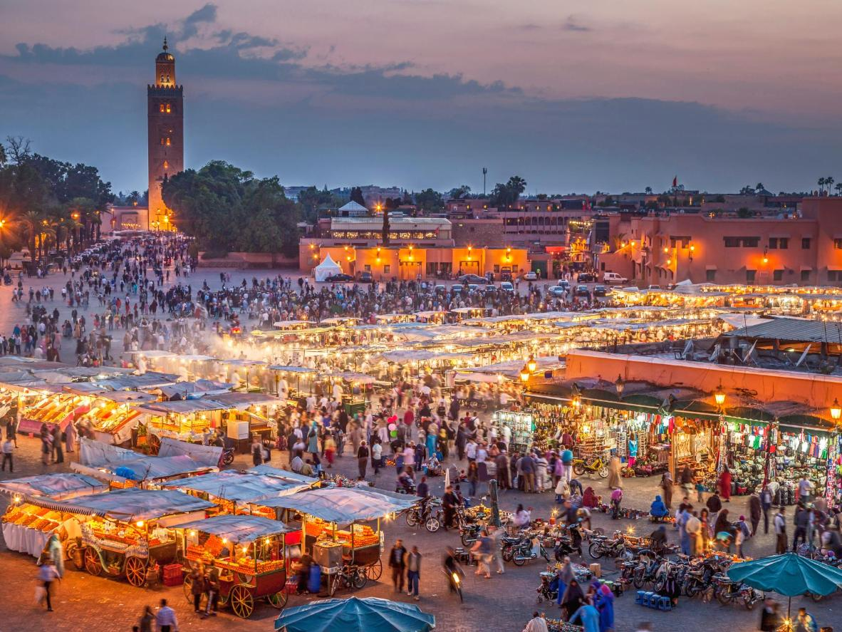 Morocco offers world-class hiking and surfing not far from Marrakech