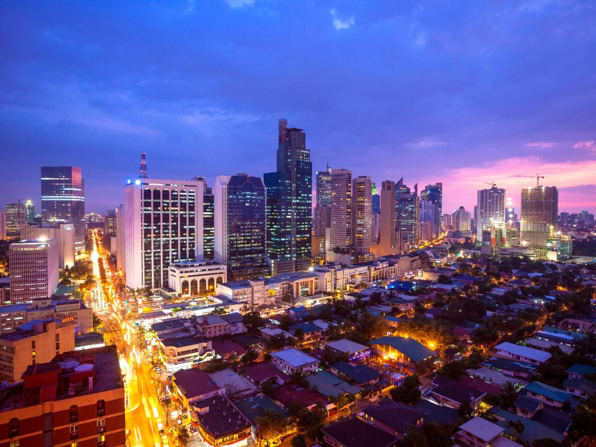 Manila offers both city nightlife and beautiful nature