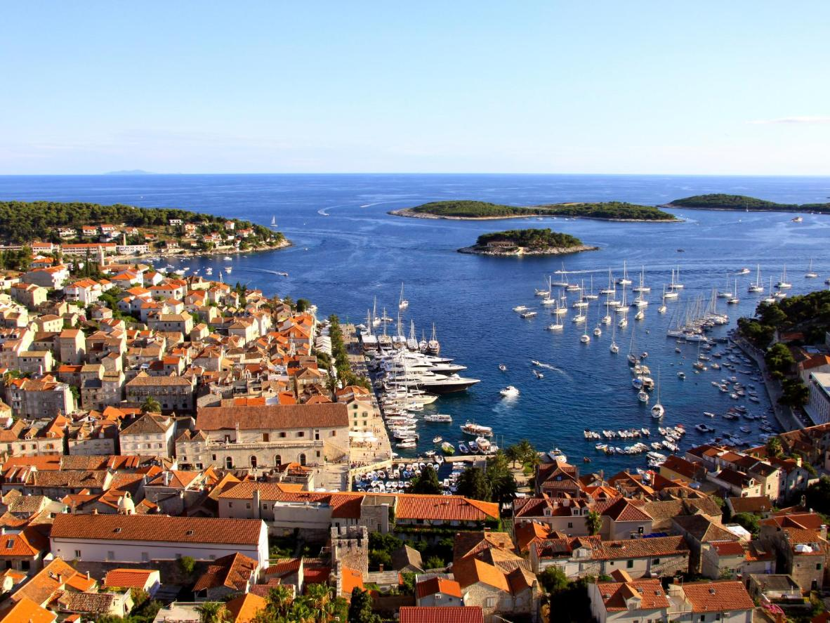 Hvar is the perfect destination for those interested in spending their stag party on a chartered yacht