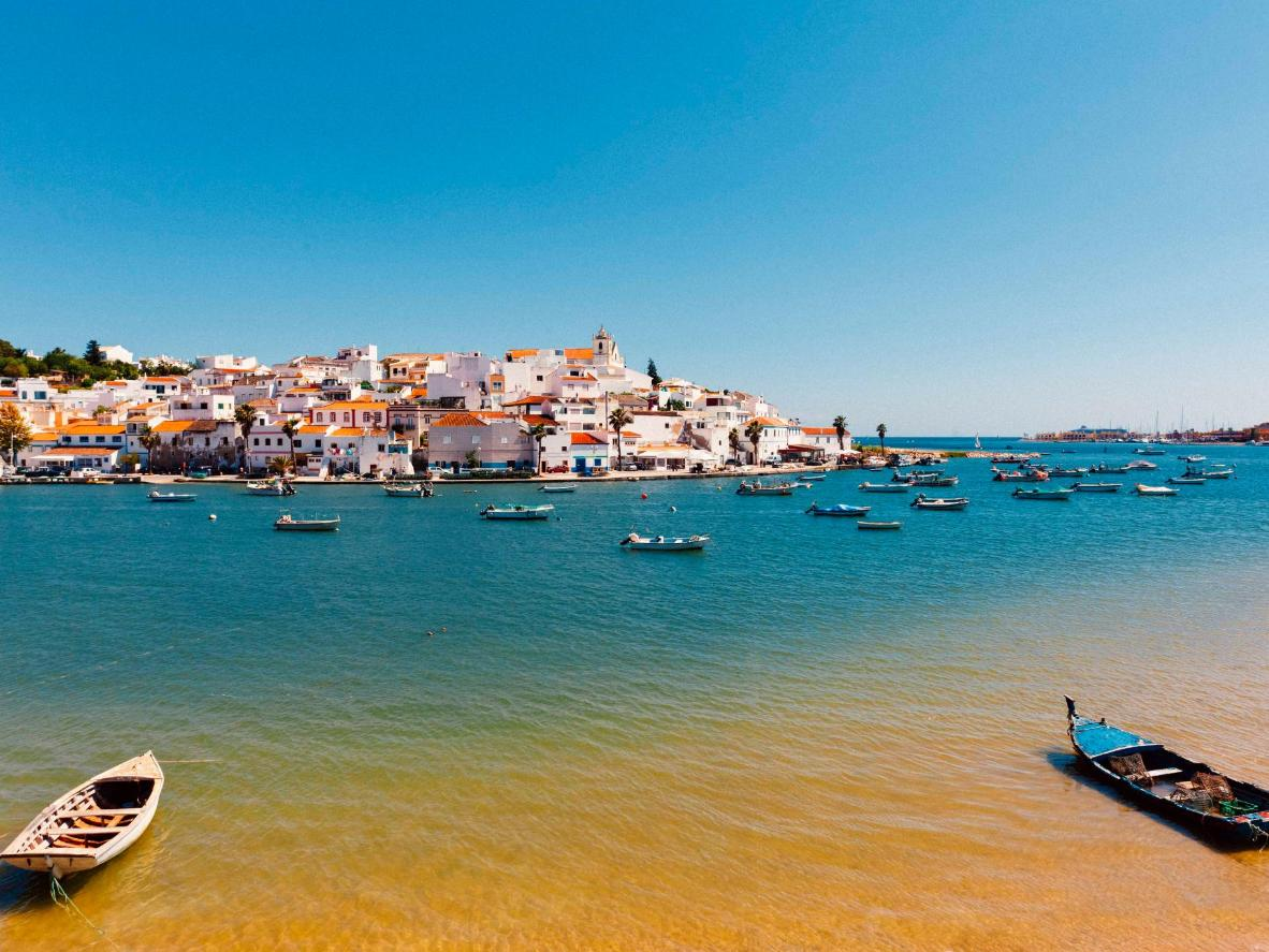 Enjoy a coastal walk or fresh, barbecued sardines in Ferragudo