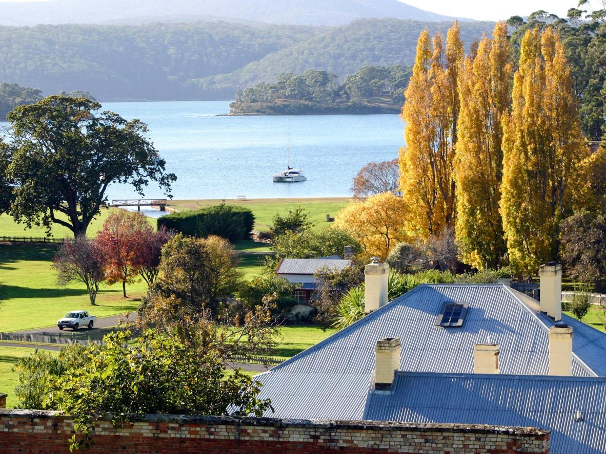 A sunny autumn day in Port Arthur