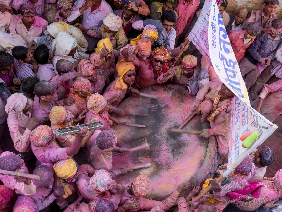 Mathura and Vrindavan's connection to Lord Krishna makes it a must-visit for Holi celebrations