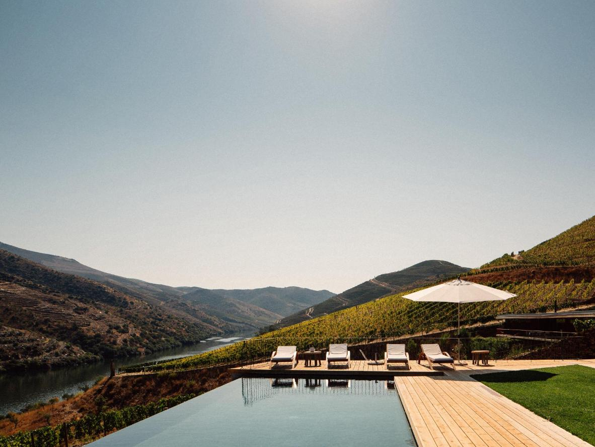 The sumptuous but eco-friendly setting of Casa do Rio, Portugal