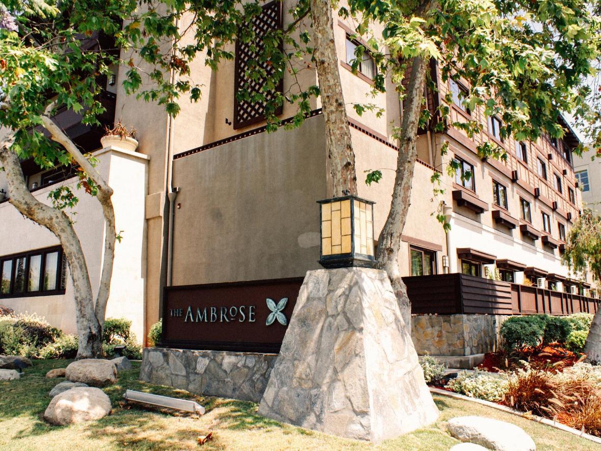 Suburban style at the Ambrose Hotel, California