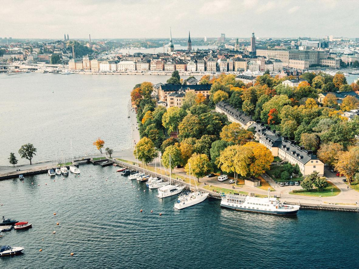 Skeppsholmen island, Sweden
