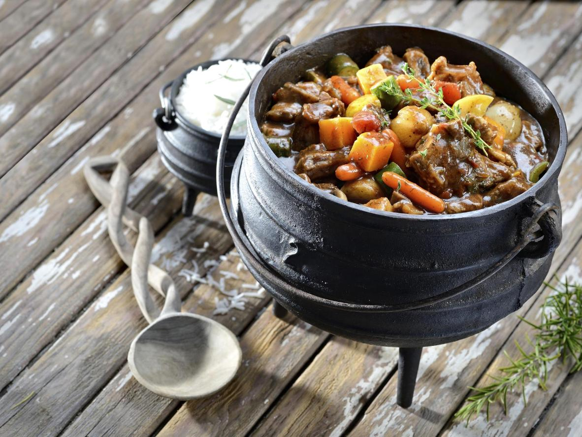 A one-pot stew cooked up in good company