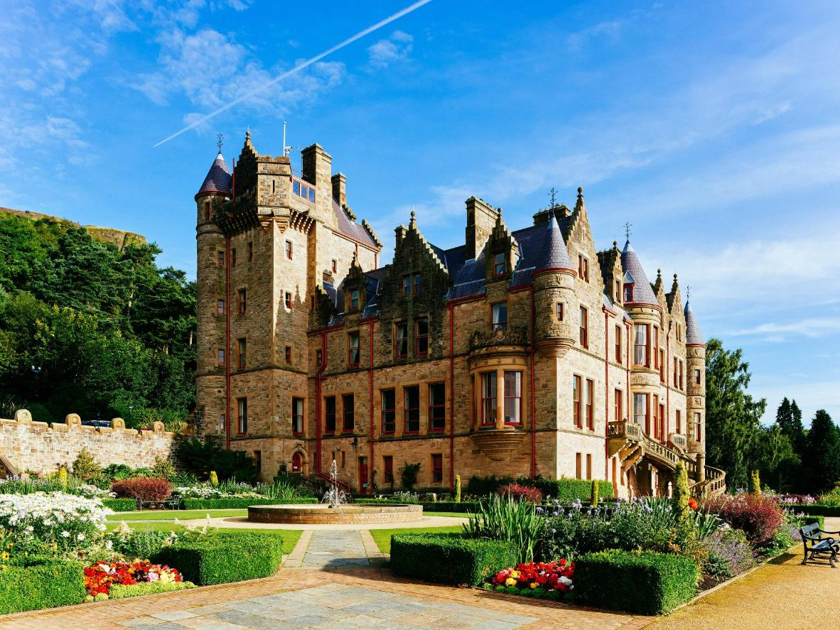 Explore the Baronial-style Belfast Castle