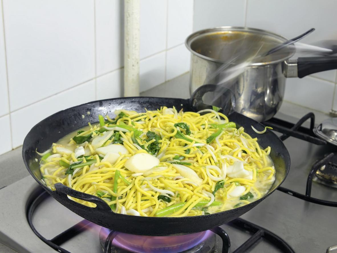 Get a big energy boost from a small portion of noodles