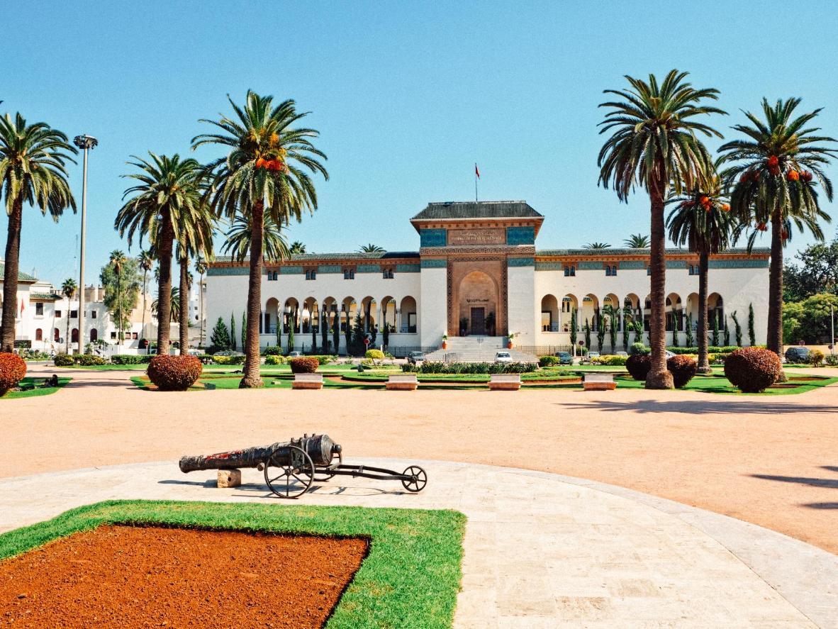 Lugar Mohammed V - una plaza pública clásica