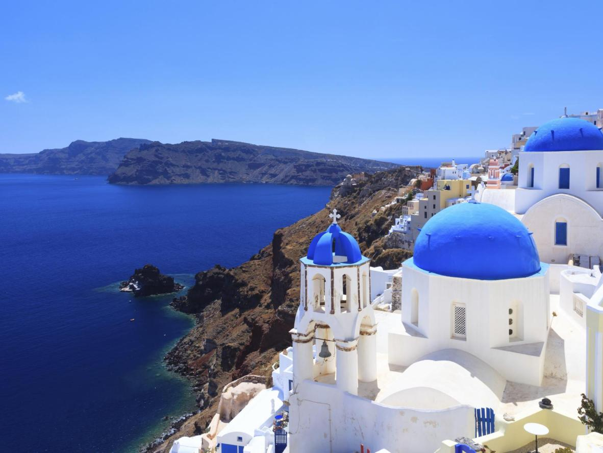 Cyclades, Greece. Endorsed by Booking.com families as one of the friendliest places in the world.