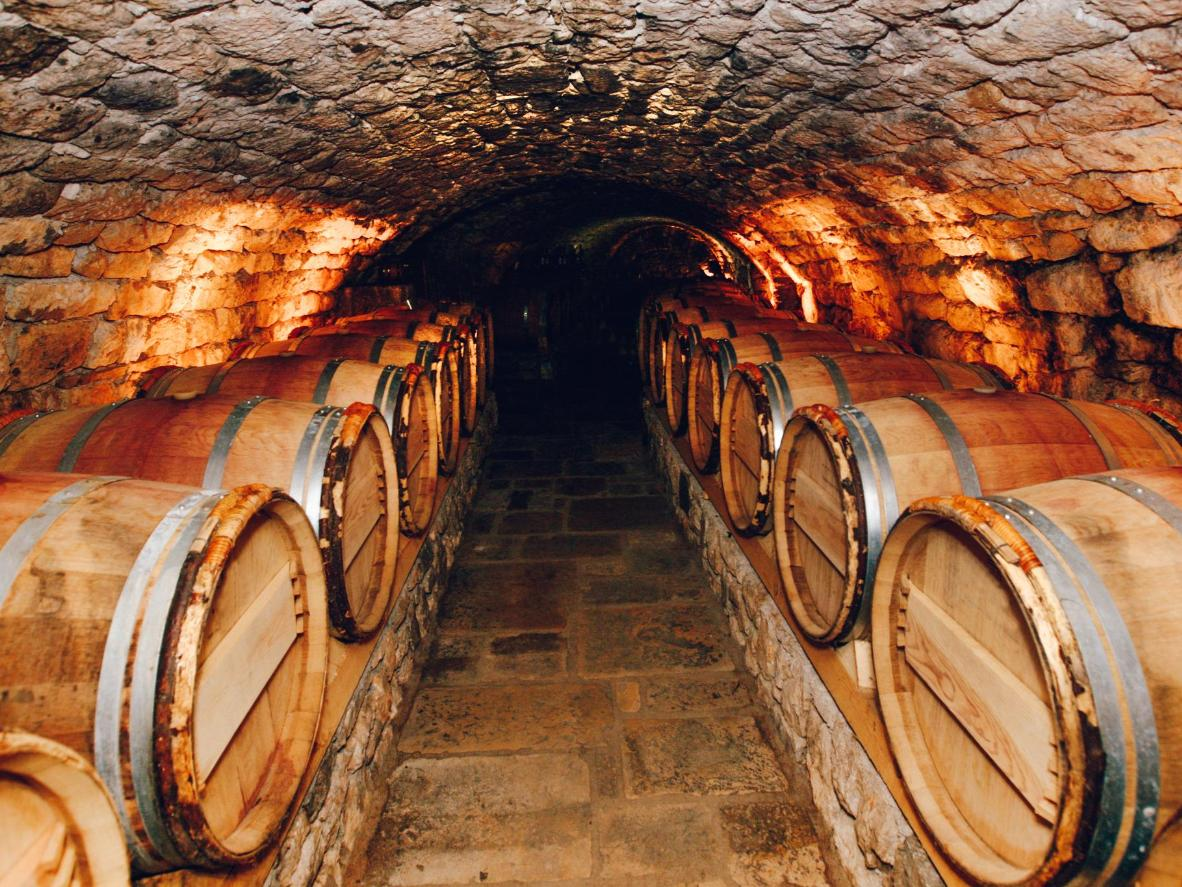 Attend a wine tasting in the cellars of Saumur