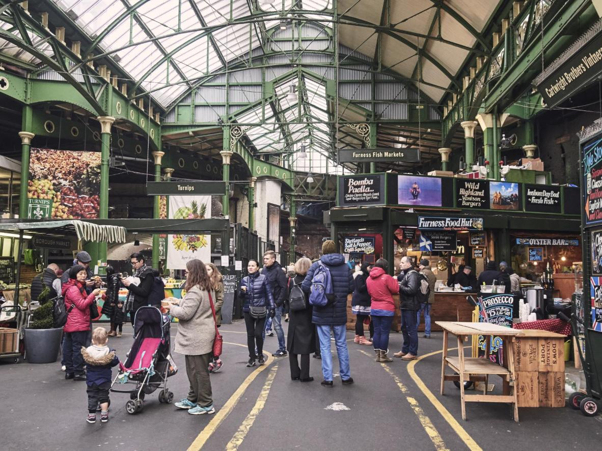 London's leading outdoor food market, good luck leaving here without sampling at least half the goods on offer.