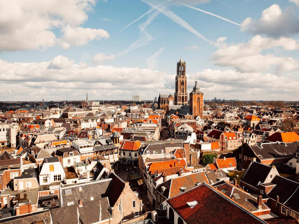 Utrecht played host to the first ever King's Day