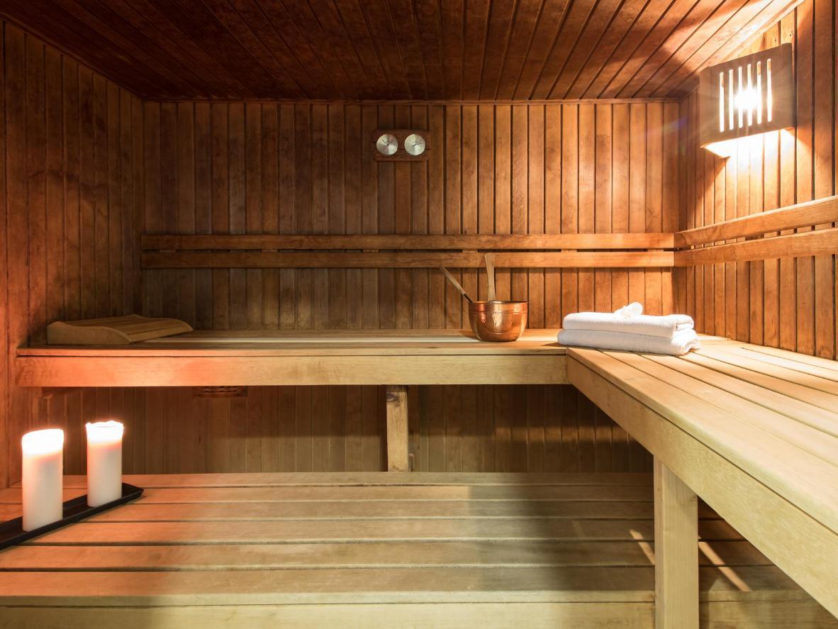 Relax in the sauna at Hotel Mercure Karpacz Resort