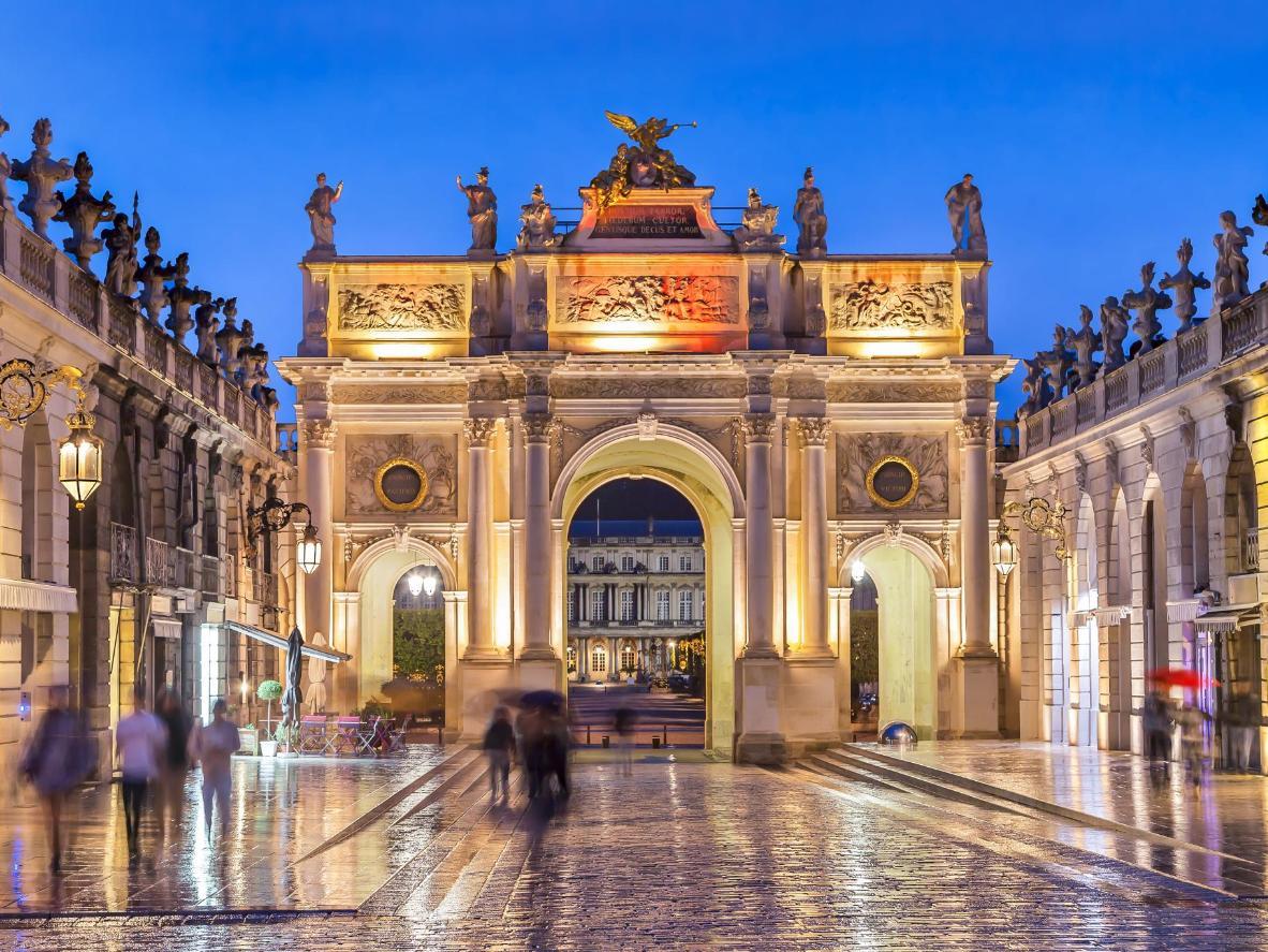 Stanislas Square in the evening, Nancy