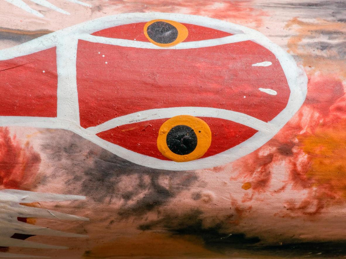 Admire ancient native art at Tjapukai Aboriginal Culture Park