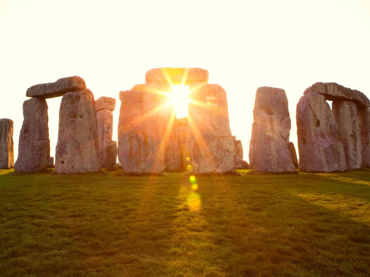 Watch the sun rise over the awe-inspiring Stonehenge