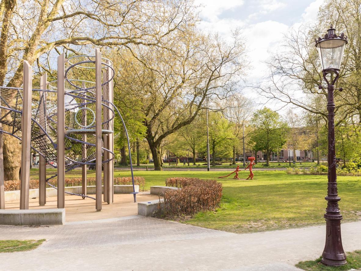 Sculptures at Frederik Hendrik Plantsoen