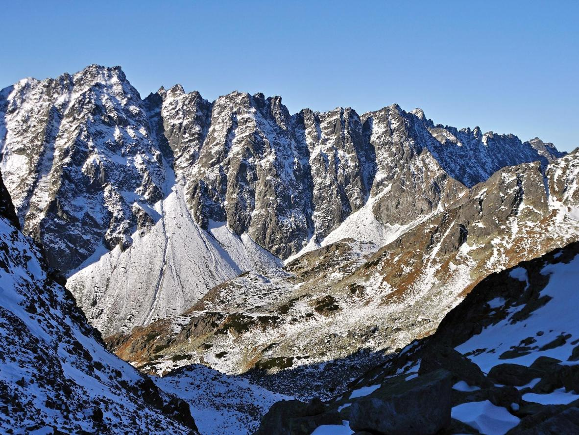 From Rysy with love: the snow-capped High Tatras or a Bond villain's secret lair?