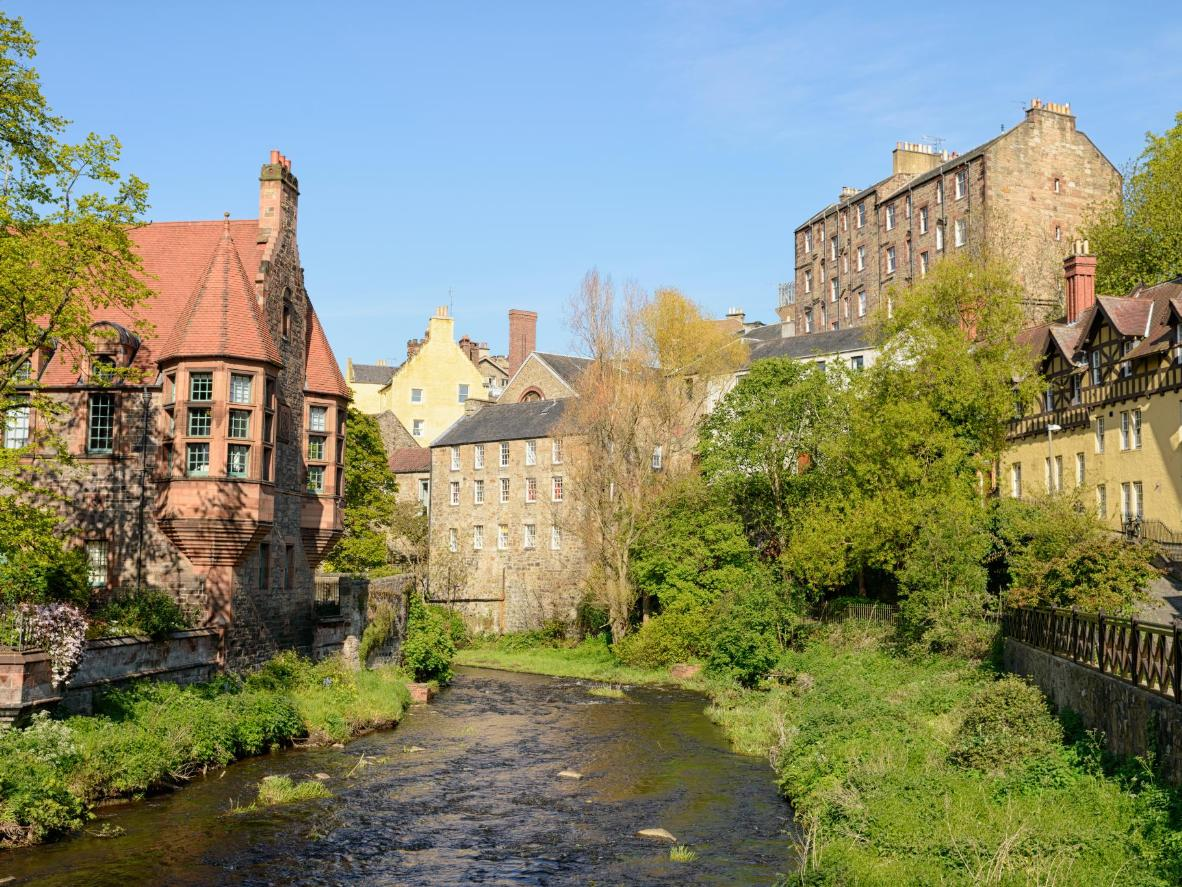 The Scottish capital has plenty of tranquil, green spaces