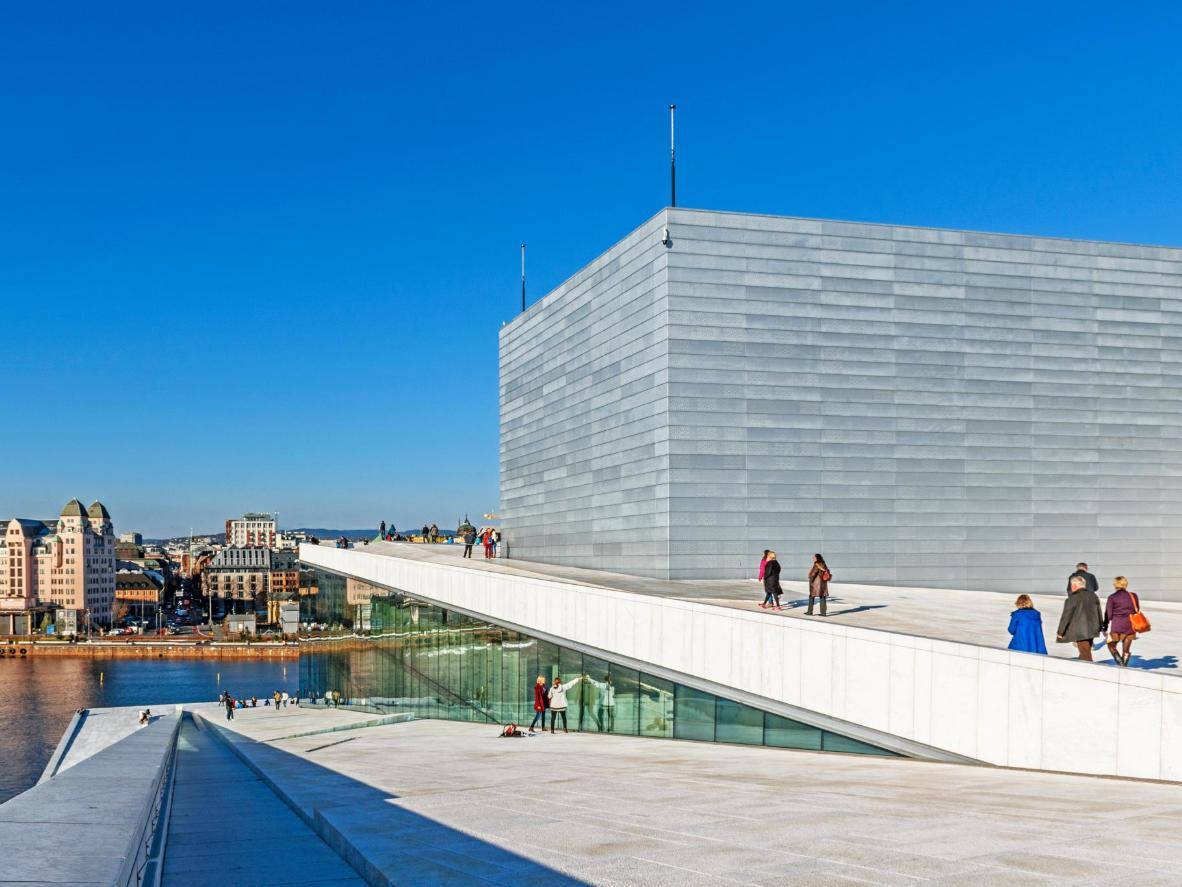 Oslo's impressive Opera House