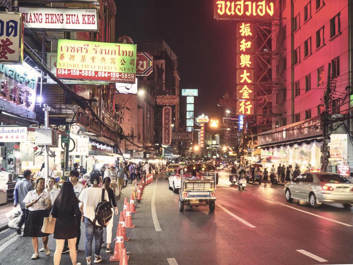 "Anita: ""A night food market in the heart of Bangkok's Chinatown, Yaowarat Market spills out onto the pavements"