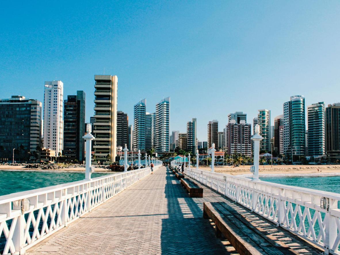 Iracema Beach in Fortaleza