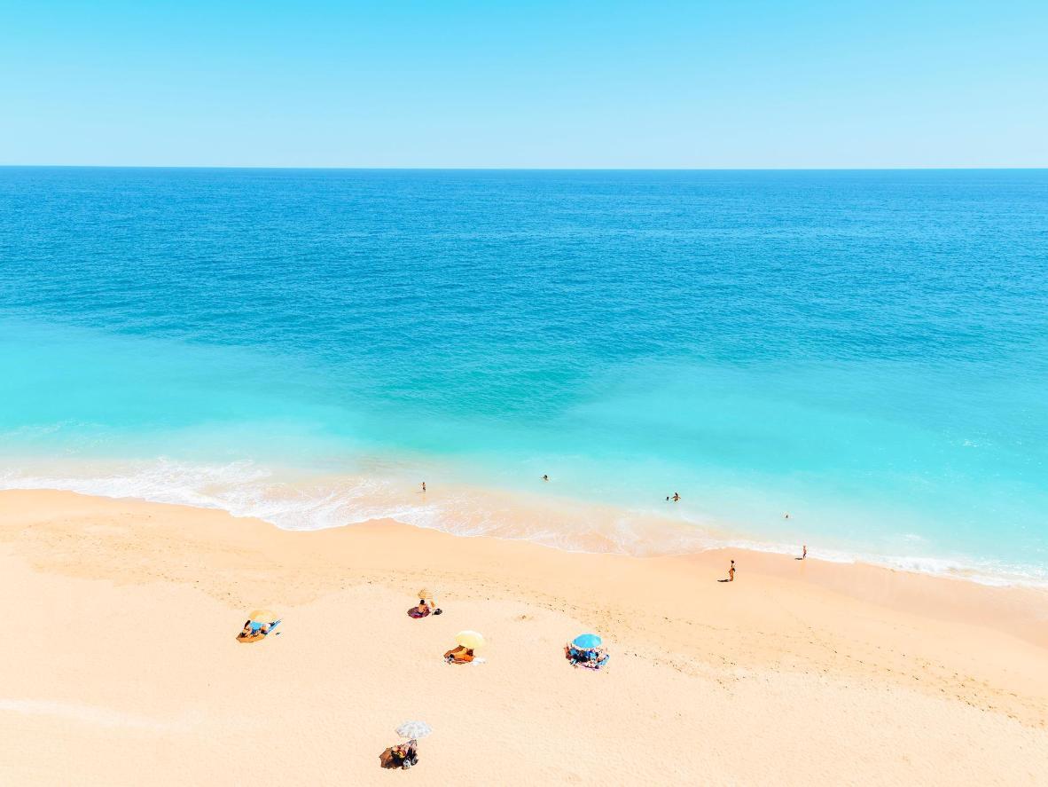 Meia Praia Beach in Lagos