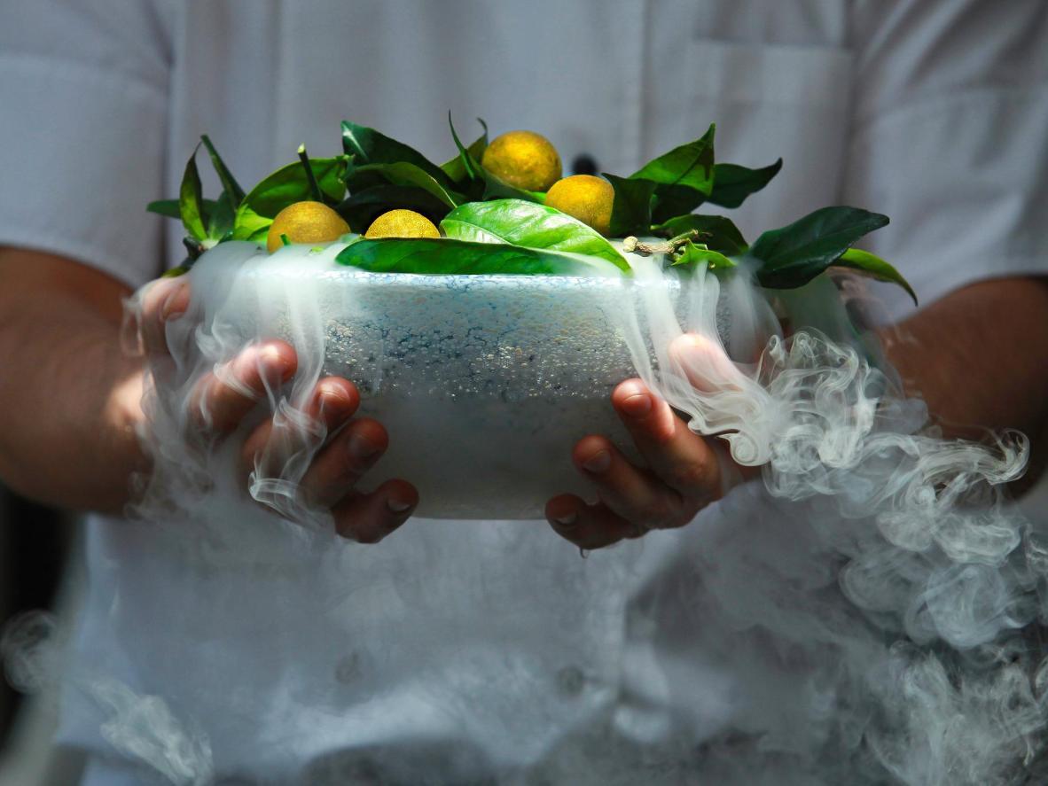 Ricette all'avanguardia del Funky Gourmet