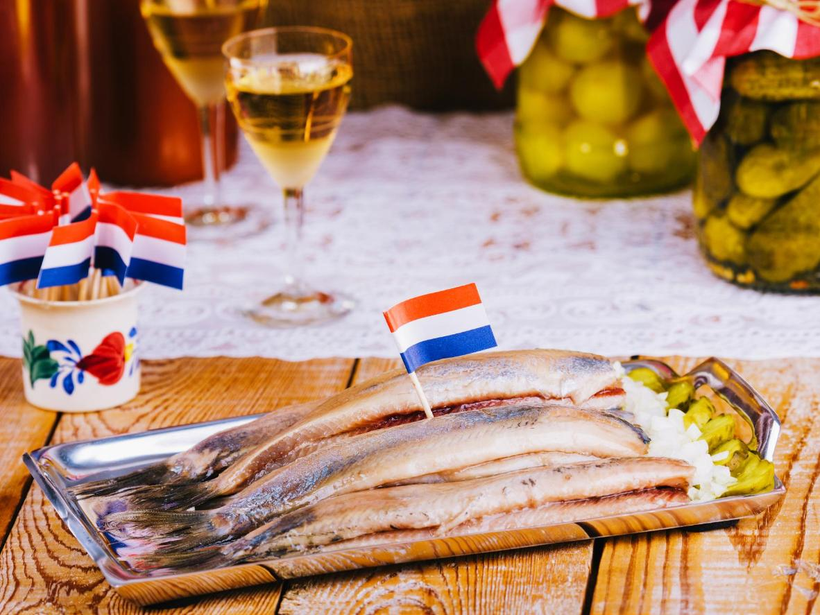 All of the tastes of Amsterdam can be found at the Albert Cuypmarkt