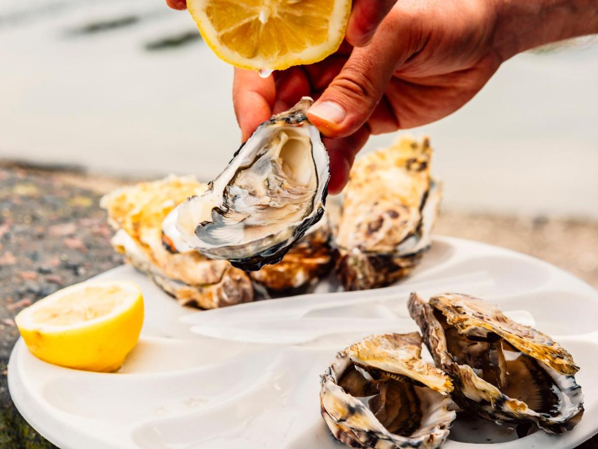 Un día de rechupete en Cancale para los fans de las ostras