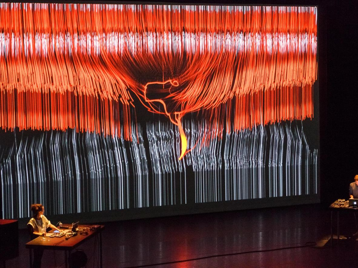 Astronomers present visualised data with music at TodaysArt