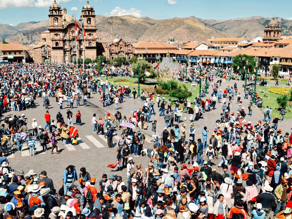 Festival of the Sun in Cusco, Peru