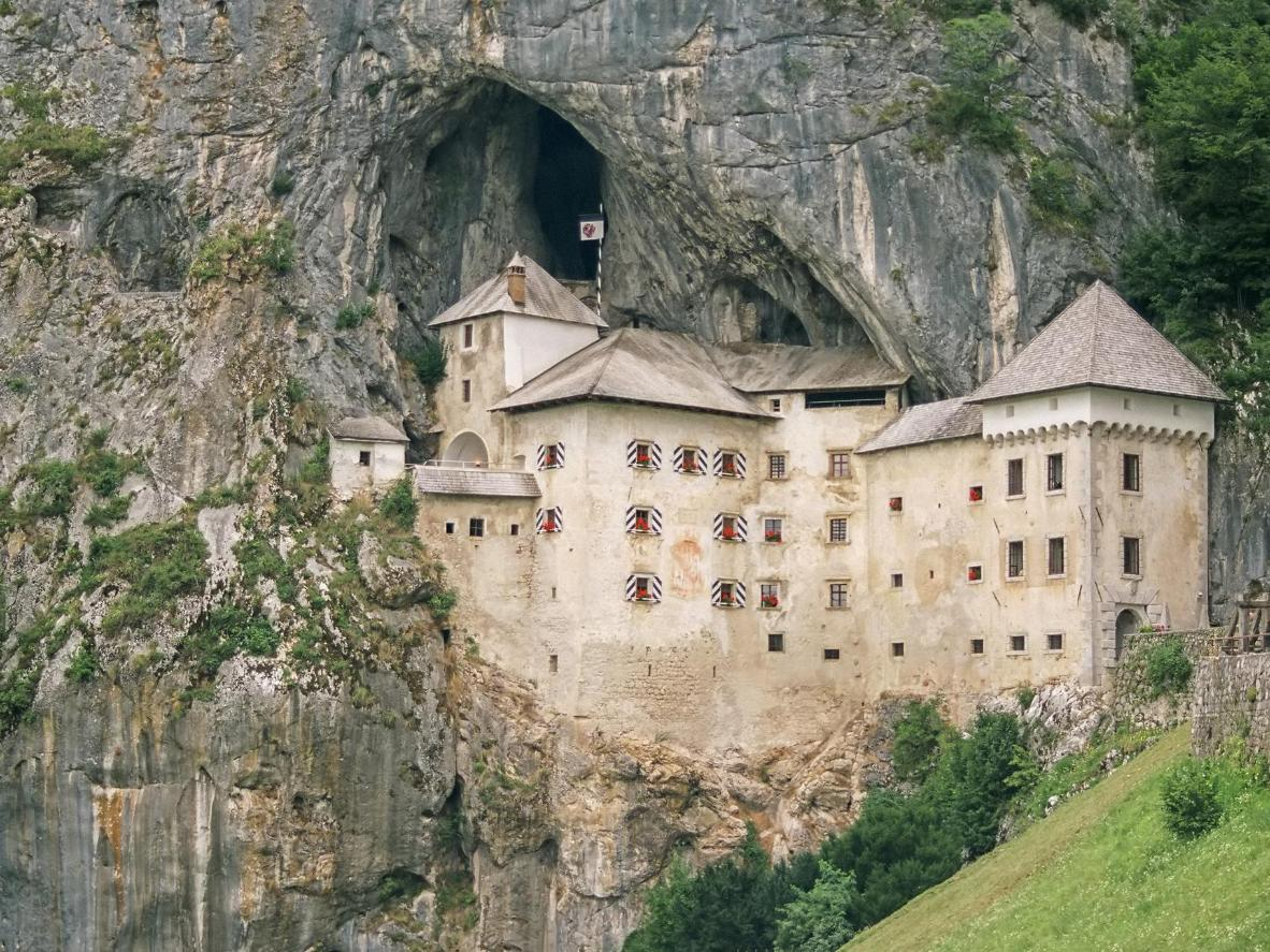 Predjama Castle has featured in films and TV shows