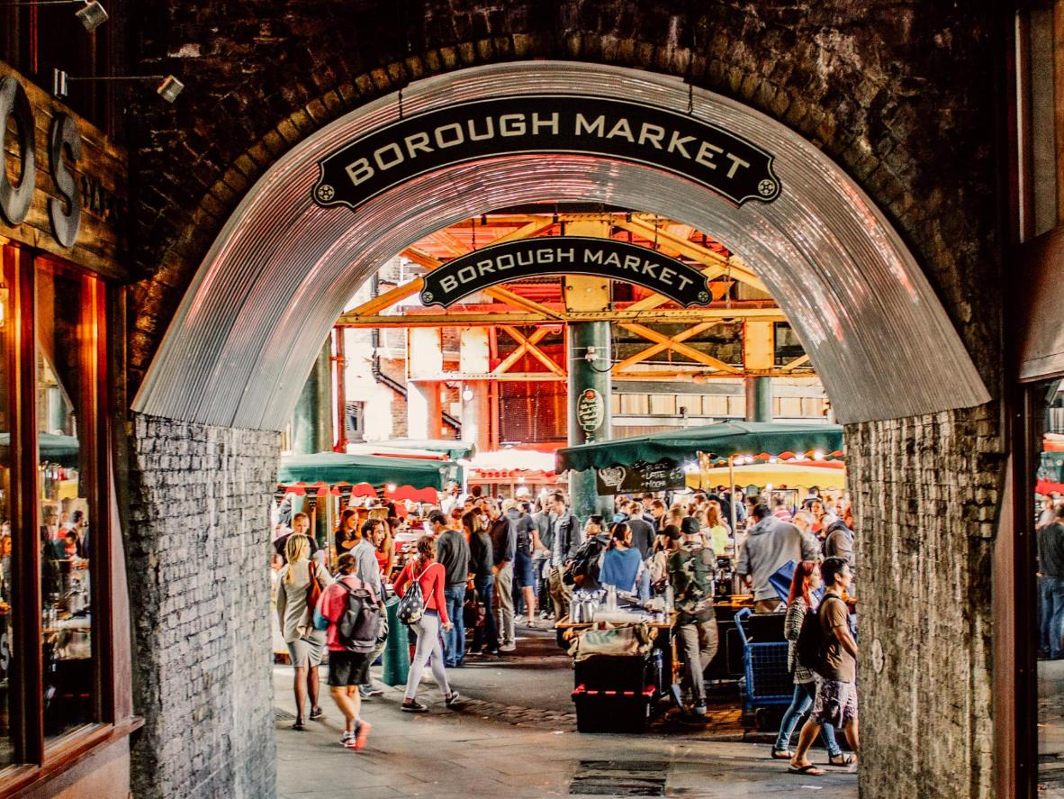 Pick up a bargain in London before you board