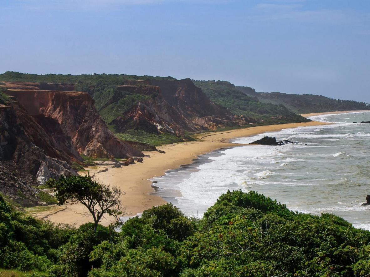 Praia de Tambaba in Brazil