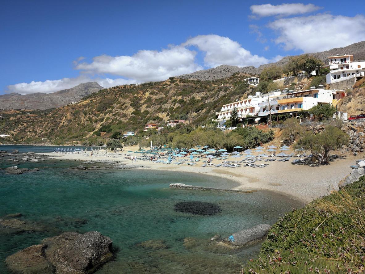 Plakias Bay in Greece