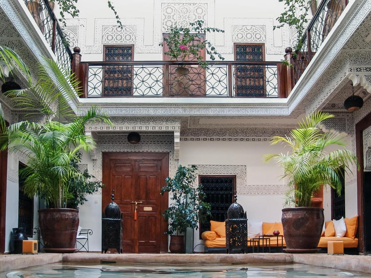 Live like kings at the Riad Les Nuits in Marrakech