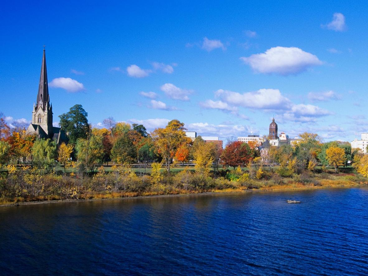 Take a break from the celebrations and explore Fredericton's downtown waterfront