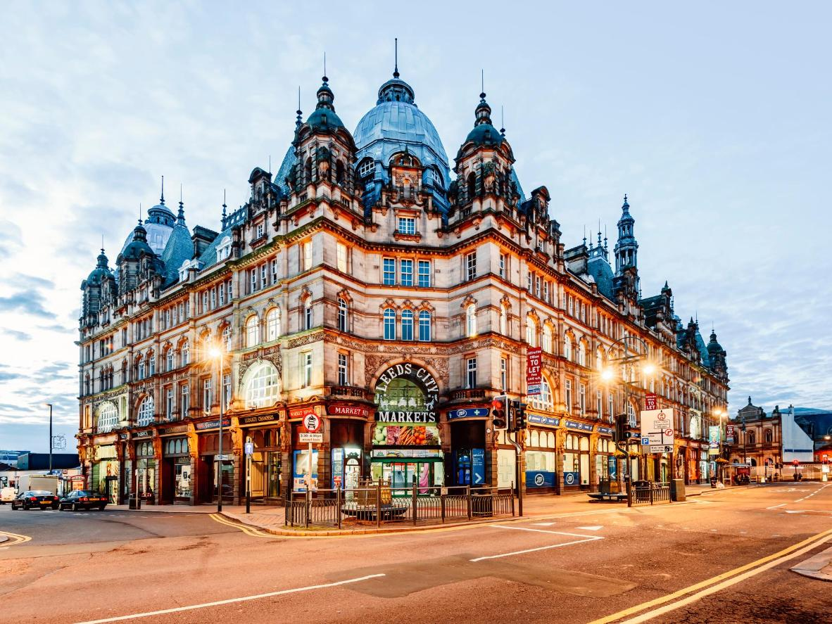 Leeds, aka the 'Knightsbridge of the North'