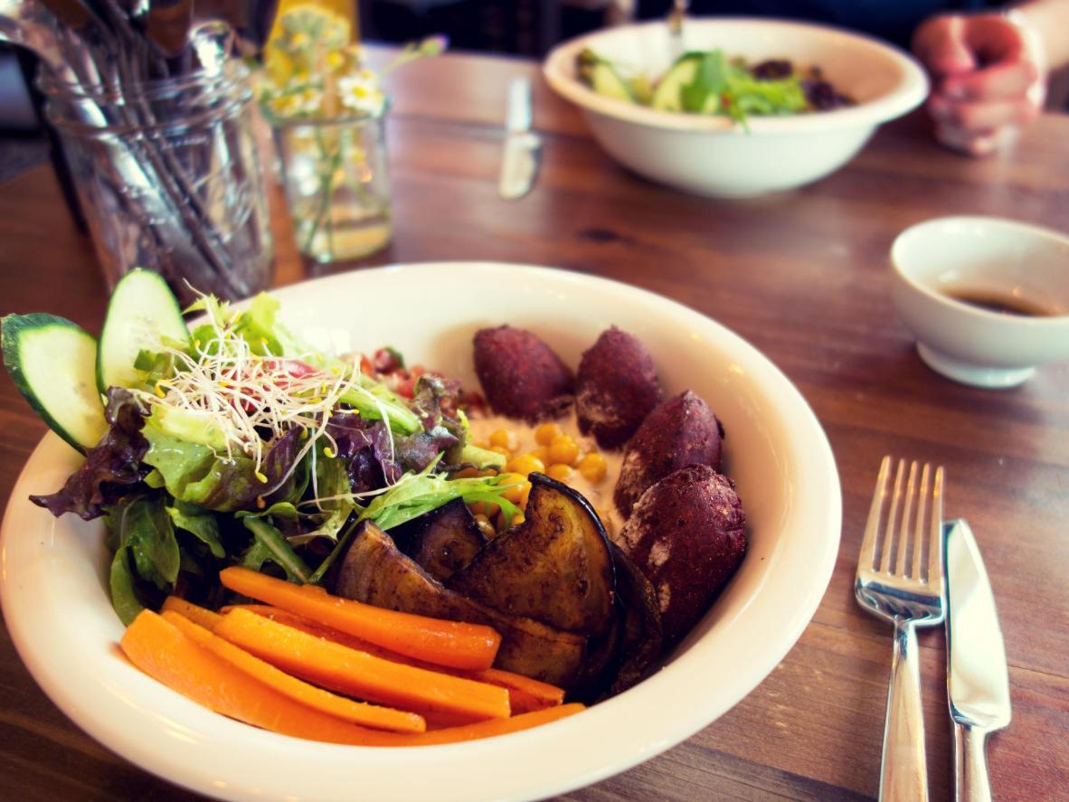 Vegan dining in Berlin