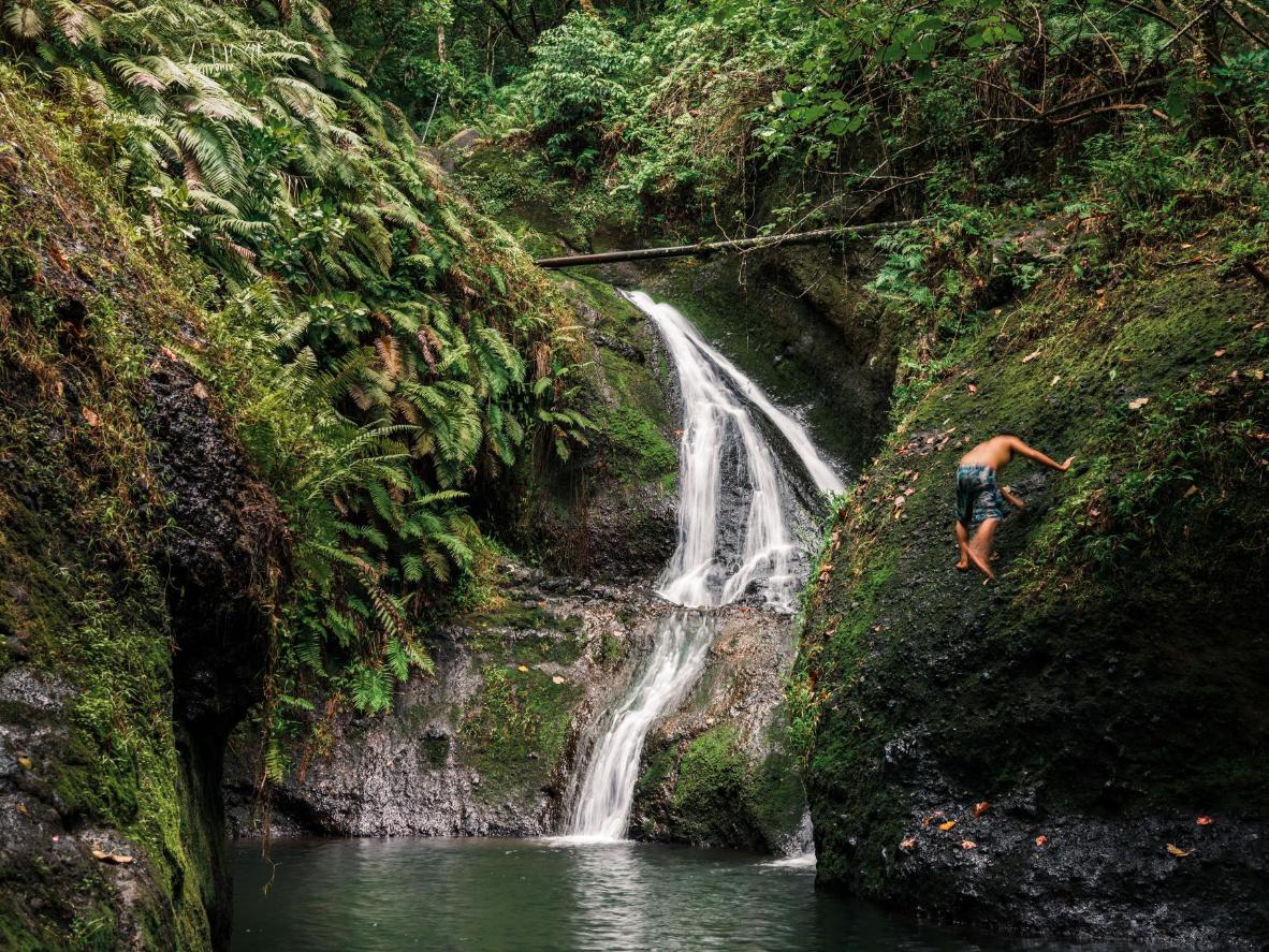 Wigmore's Papua Waterfall, Rarotonga