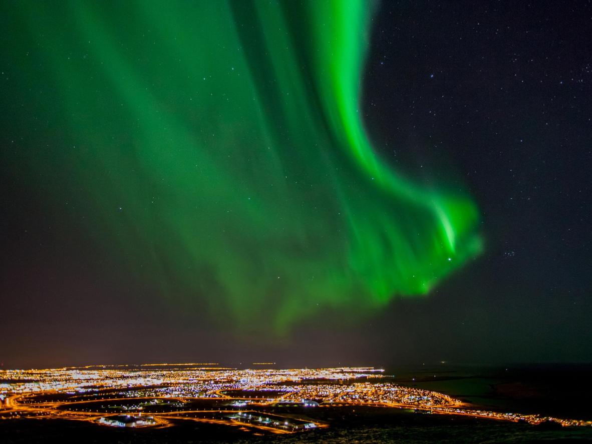 The winter months are the best time of year to see the northern lights