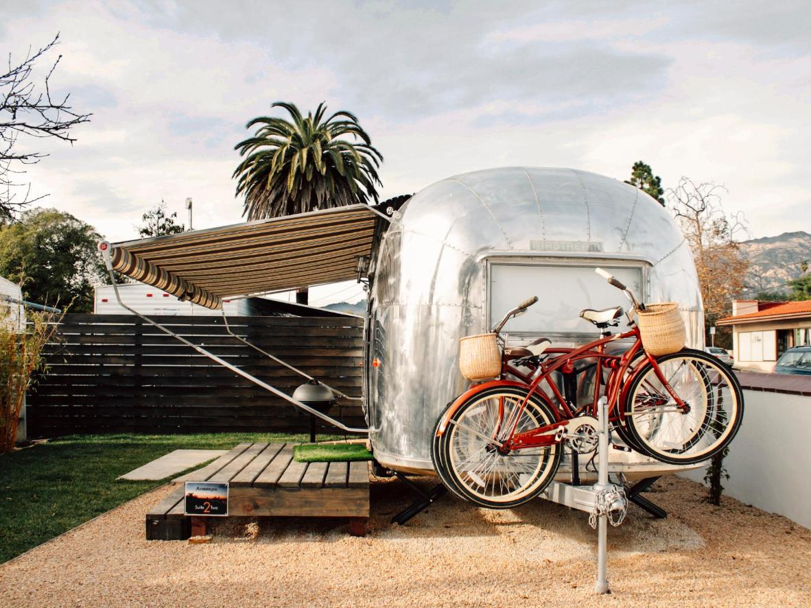 Retro camping in Santa Barbara