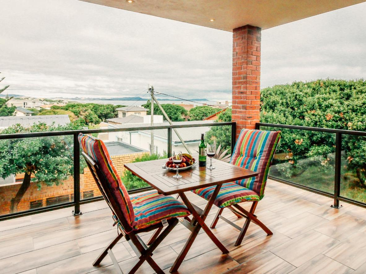 The deck at White Shark Guest House offer great sunrise views