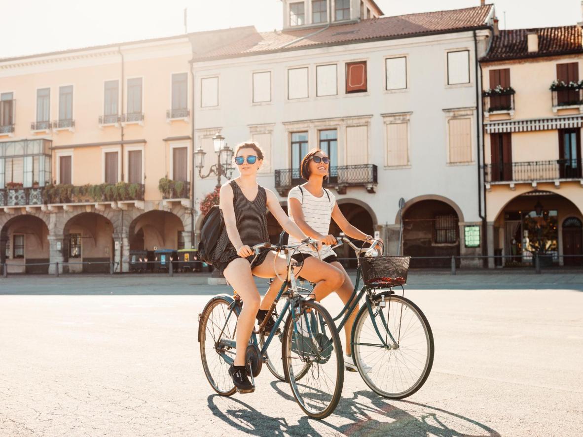 Padova is a youthful, university city